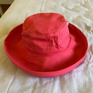 Bright Pink Sun Hat by Panama Jack